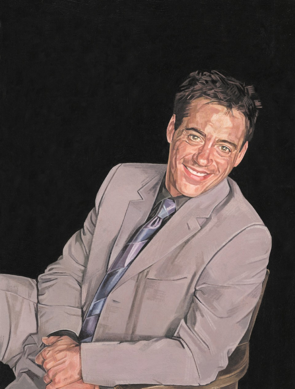 Robert Downey Jr. / Chris Kasch.Illustration Robert Downey