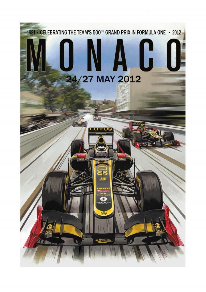 Lotus F1 Poster
